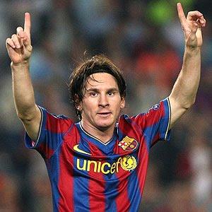 Messi, el hombre del récord.