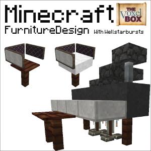 Minecraft Interior Design - YouTube