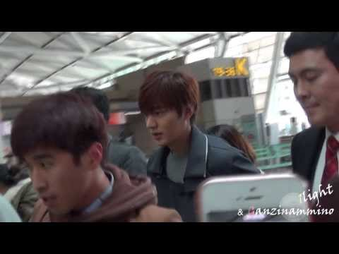 Lee Min Ho 20140307 Incheon Airport 중국 출국