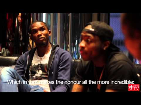 Samuel Eto'o and Davido: The Meeting