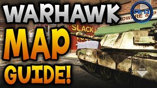 "GHOSTS Map Guide ""WARHAWK""! Mortar Fire, Breaching"