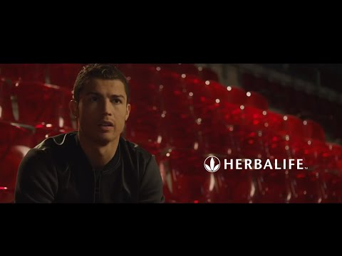 Cristiano Ronaldo selected Herbalife as his official nutrition partner