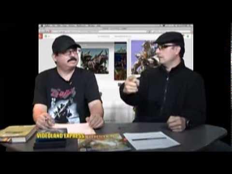 Videoland Express LIve on MNN Halloween Show.