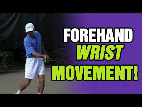 Tennis Lessons - Wrist Movement During A Forehand | Tom Avery Tennis 239.592.5920