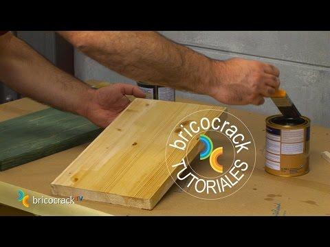 Proteger la madera en el exterior bricocracktv youtube for Tratamiento madera exterior