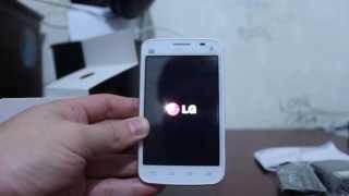 Unboxing LG Optimus L4 II Tri
