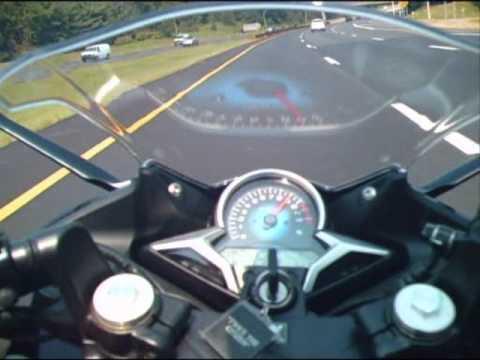 2011 honda cbr250r top speed and acceleration run youtube for Honda cbr250r top speed