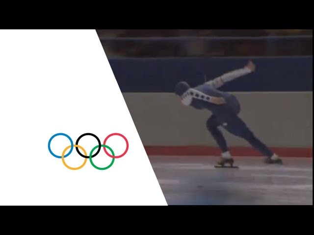 Yvonne Van Gennip - 3,000m Women's Speed Skating | Calgary 1988 Winter Olympics