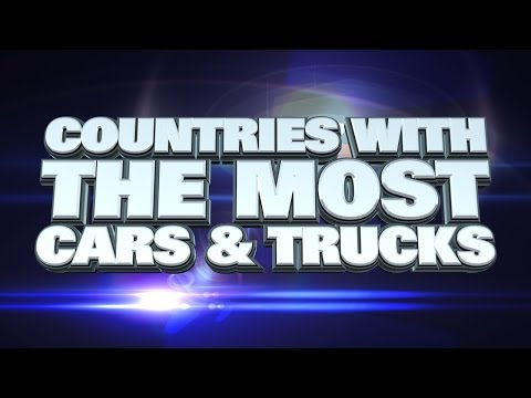 Top 10 Countries With The Most Cars And Trucks 2014