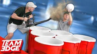 SUPER-Sized Punishment Cup Pong!!