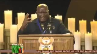 KENNETH KAUNDA SPEECH AT NELSON MANDELA'S FUNERAL FULL