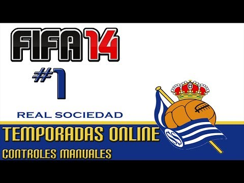 FIFA 14||Temporadas Online#1|Controles Manuales||Gameplay PC