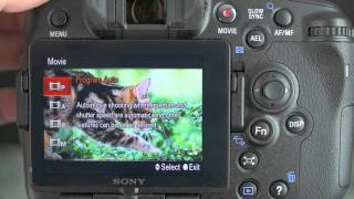 Sony A77 Video Features Review