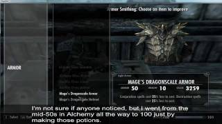 SKYRIM: How To Break The Game. 4m Damage Bow, 100k+ Armour
