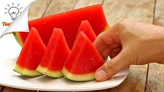 How to Make Watermelon Jello