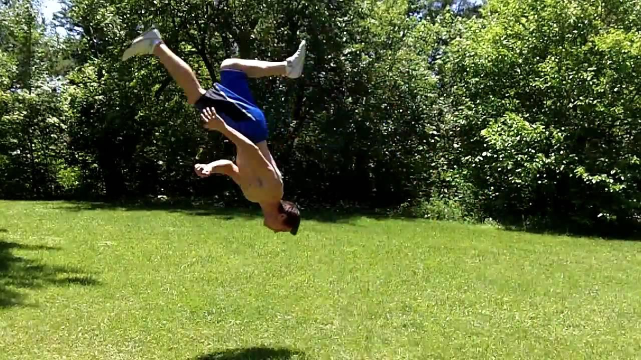 how i roll er flip parkour freerunning gymnastics youtube