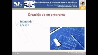 Introducción a la programación 3: Creación de un programa