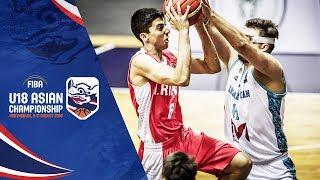 Чемпионат Азии U18 2018 - групповой этап: Казахста - Иран