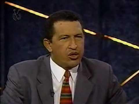 Chávez entrevistado por Alfredo Peña, antes 06-Dic-1998