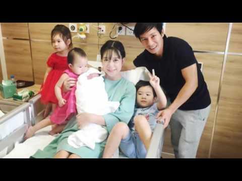 Lý Hải - Minh Hà hạnh phúc bên con trai thứ 4 vừa chào đời