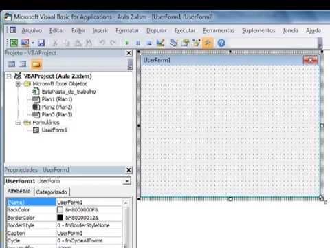 Criando Programa em VBA Excel -  Completo