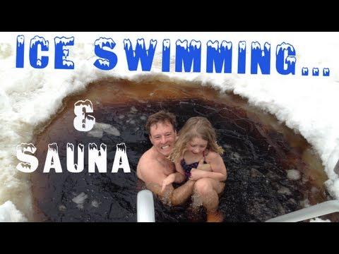 Smoke Sauna & Ice Swimming | Nuuksio Park Finland