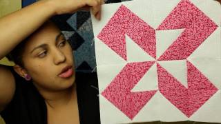 How To Make A Half Square Triangle Block- Block#7 Of 12