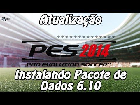 Atualização - PES 2014 - PC / Instalando Pacote de Dados 6.10