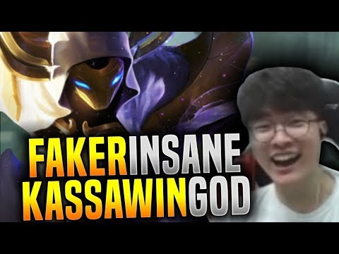 Faker Destroying Korea SoloQ With Kassawin! - SKT T1 Faker Plays Kassadin Mid! | SKT T1 Replays