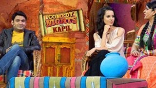 Comedy Nights With Kapil Kangana Ranaut SPECIAL EPISODE