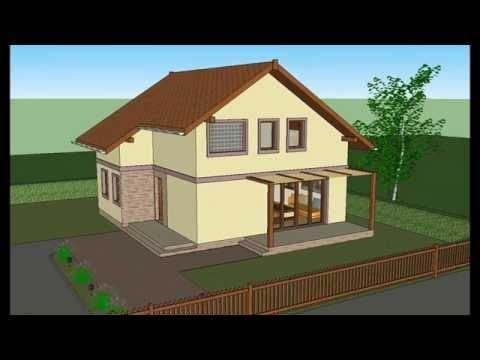 MODEL D-2 by ALIQUANTUM DOO,  kuce, projekt, projekt, house plans, house designs