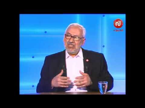 راشد الغنوشي : يجب أن نتحاور مع من لا يستعرف بالدستور والديمقراطية