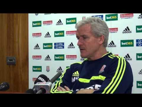 Mark Hughes Press Conference: Arsenal
