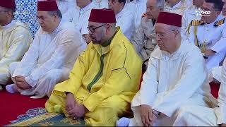 شاهد بالفيديو | الملك محمد السادس يؤدي صلاة الجمعة بالمسجد الذي أطلق عليه اسم مسجد فلسطين بالدار البيضاء | قنوات أخرى