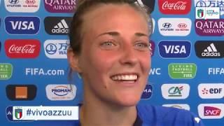 """L'Italia ai quarti, Galli: """"Bellissimo essere tra le migliori otto al Mondo"""""""