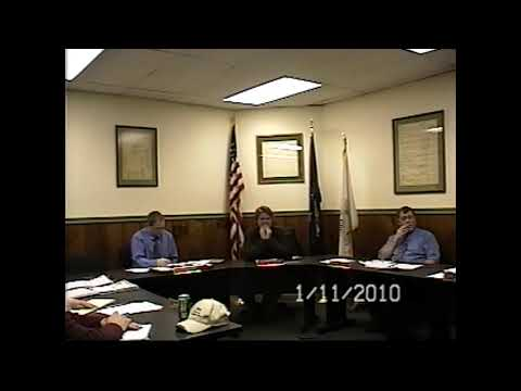 Champlain Village Board Meeting 1-11-10
