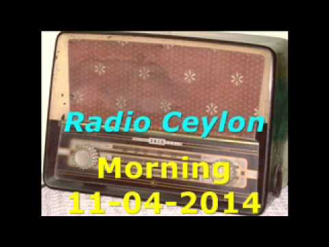 Radio Ceylon 11-04-2014~Friday Morning~04 Aapki Pasand