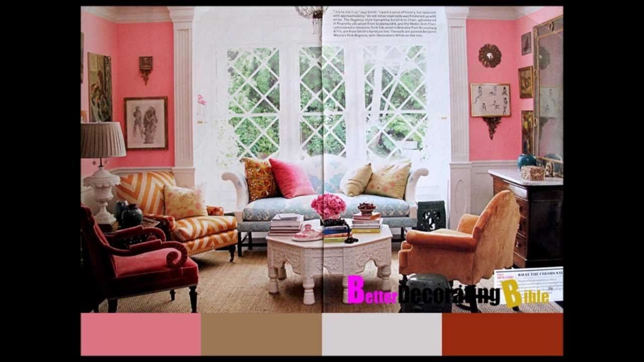 Colorful summer decorating ideas for your living room for Living room designs youtube