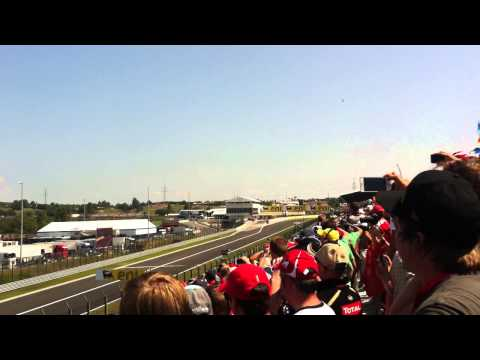 F1 2012 Hungarian Grand Prix Tribune Gold 4