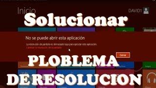 COMO AUMENTAR LA RESOLUCION DE LA PANTALLA EN WINDOWS 8