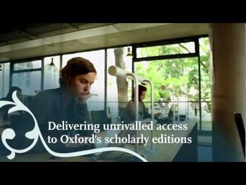 Take a sneak peek at Oxford Scholarly Editions Online