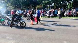 Yamaha Vixion VS Ninja 250R DragBike 201 Meter Win Vixion