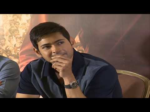 Bharat Ane Nenu Movie - Thank You Meet