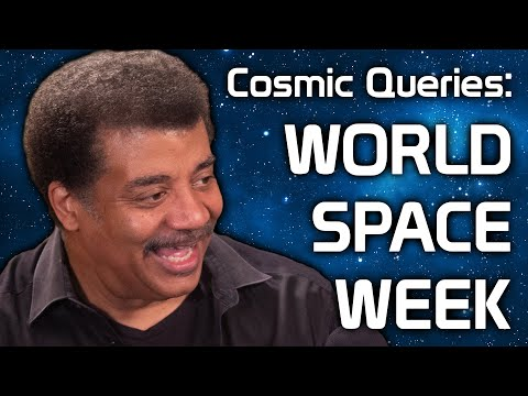 Cosmic Queries – World Space Week with Neil deGrasse Tyson