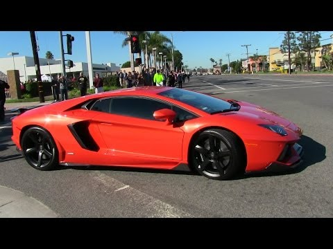 Massive Supercar Takeoffs!! Ferrari Enzo, Lamborghini Aventador, F12, Gallardo, GTR, R8