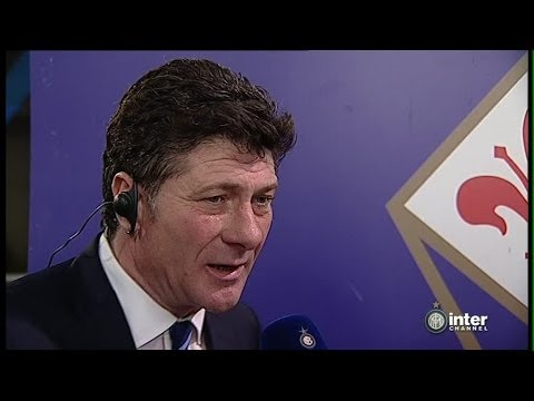 INTERVISTA WALTER MAZZARRI POST FIORENTINA-INTER