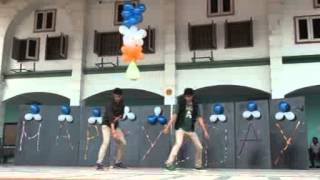 Dance perform by class XII Students For Anand Sir