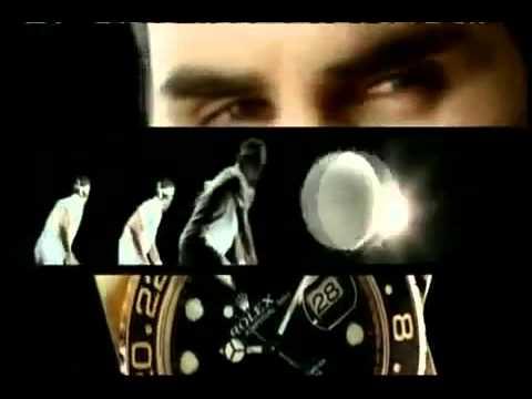 Roger Federer Rolex Commercial   STUNNING!! 360p