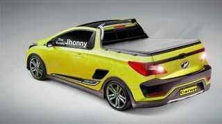 Hyundai HB20 Pickup By TheReallyJhonny