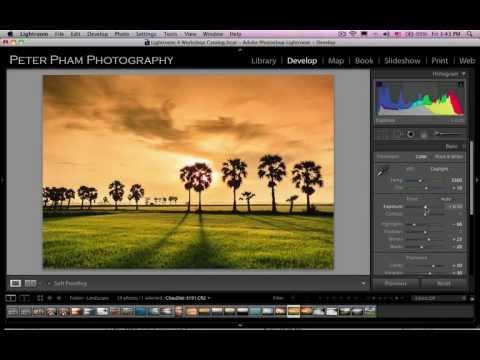 Học Lightroom 4 - 040 Xử lý hình phong cảnh 4